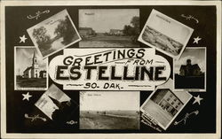 Greetings from Estelline So. Dak