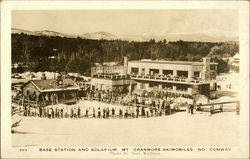 Base Station and Solarium, Mt. Cranmore Skimobiles