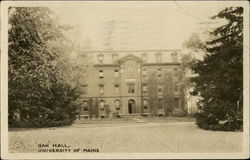 Oak Hall, University of Maine