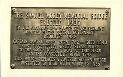 Plaque for the Samuel Morey Memorial Bridge