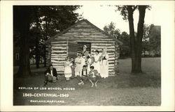 Replica of Log School House