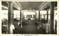 Dining Room, Mountain View House