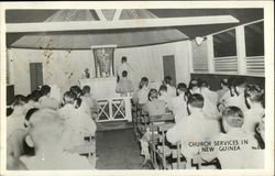 Church Services in New Guinea