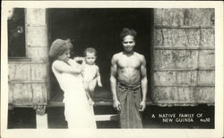 A Native Family of New Guinea