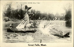 "Fishing ""Tales"" Photo from Great Falls, Montana"