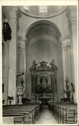 Main Altar In St. Peter Claver Church