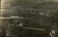 Aerial view of Fairlee, VT &