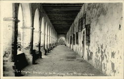 The Longest Cloister of the Missions