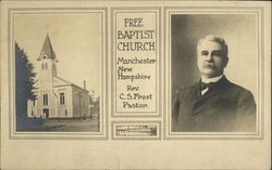 Free Baptist Church, Rev. C.S. Frost, Pastor
