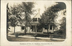 Residence of Wm. H. Henshaw, Diamond Hill