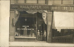 Bigelow Wall Paper & Paint Co. Building Postcard