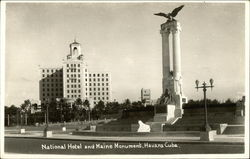 National Hotel and Maine Monument