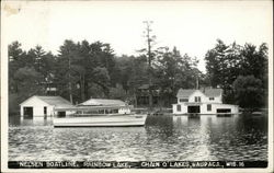Nelsen Boatline, Rainbow Lake, Chain O'Lakes