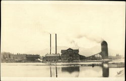 Weed Lumber Company's Mill