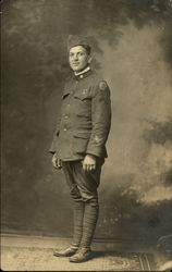 WWI Soldier, Harry Garth, Day of Discharge