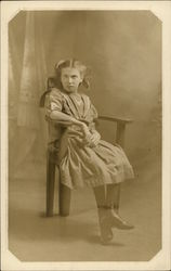 Portrait of Girl in Chair