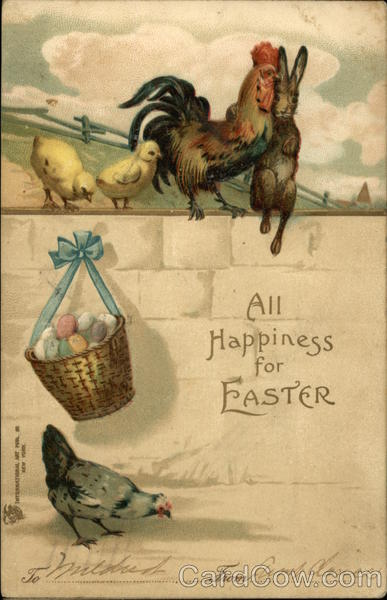 All Happiness for Easter With Chicks