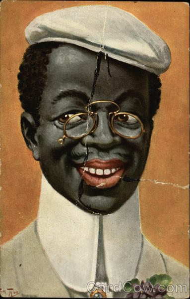 black man with wire