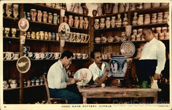 Hand Made Pottery, Cyprus