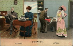 Dictation Before. After