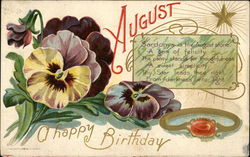 August A Happy Birthday