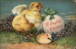 Baby Chick for a Joyful Easter