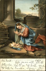 The Virgin and Child - Madonna and Child Postcard