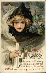 A Happy Halloween Hold Your Candle Steady and Keep a Sharp Lookout
