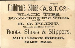H.O. Flint Boots, Shoes & Slippers