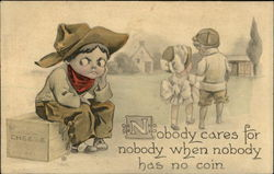 Nobody Cares for Nobody When Nobody Has No Coin