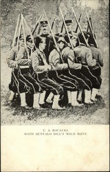 C. S. Zouaves with Buffalo Bill's Wild West