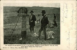 Col. Keough and 25 Soldiers of Co. I. 7th Cavalry, Killed in Custer Battle, June 25, 1876