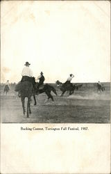 Bucking Contest, Torrington Fall Festival, 1907