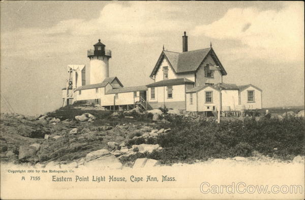 Eastern Point Light House, Cape Ann