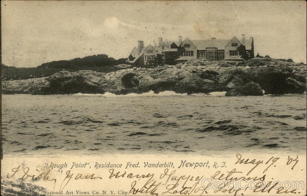 Rough Point - Residence of Fred. Vanderbilt Newport Rhode Island