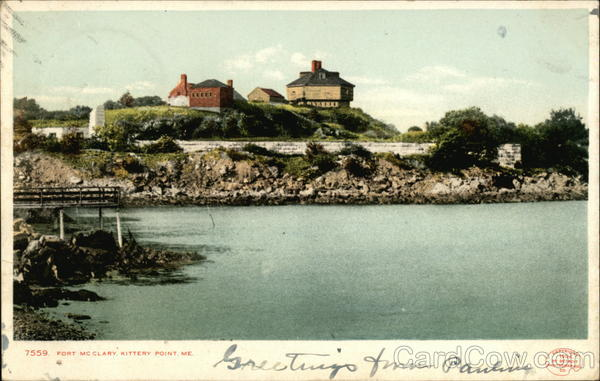 Fort McClary Kittery Point Maine