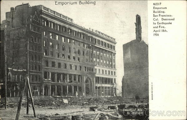 Emporium Building San Francisco California