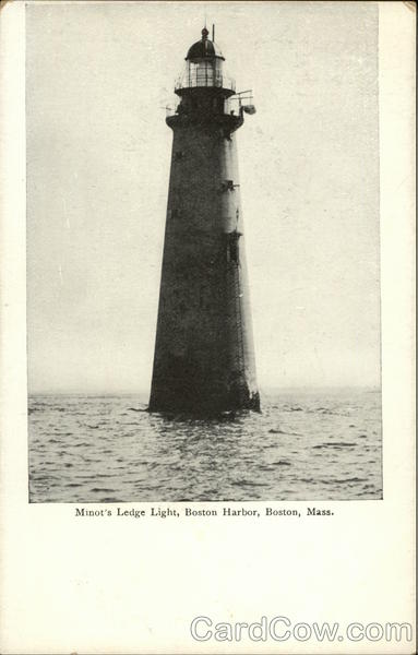 Minot's Ledge Light, Boston Harbor Massachusetts