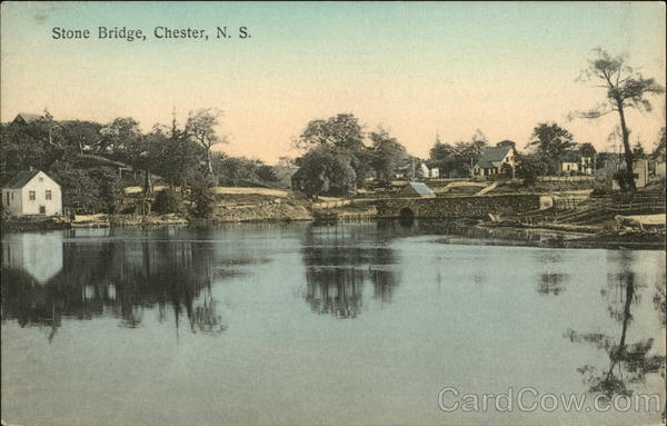 Stone Bridge Chester Canada Nova Scotia