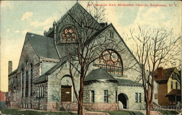 Monroe Avenue Methodist Church Rochester New York