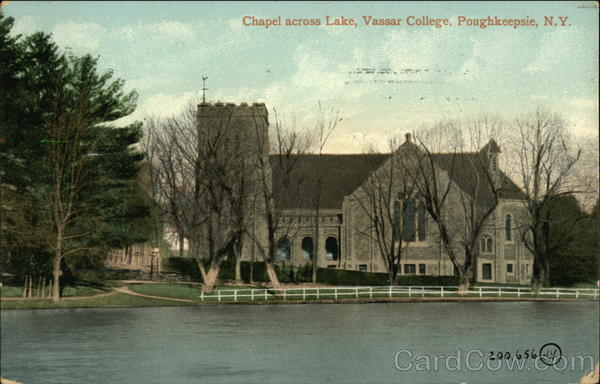 Chapel Across the Lake at Vassar College Poughkeepsie New York