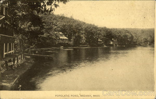 Popolatic Pond Medway Massachusetts