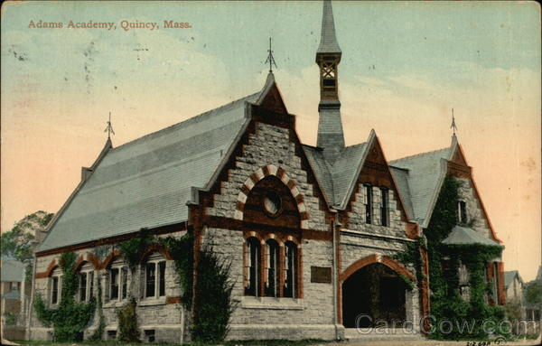 Adams Academy Quincy Massachusetts