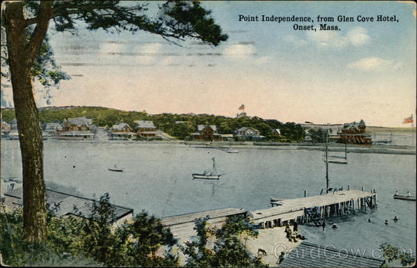 Point Independence from Glen Cove Hotel Onset Massachusetts