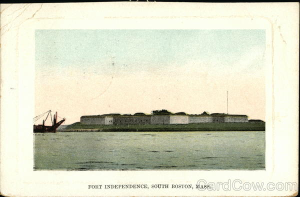 Fort Independence South Boston Massachusetts