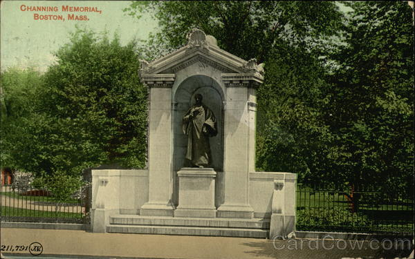 Channing Memorial Boston Massachusetts