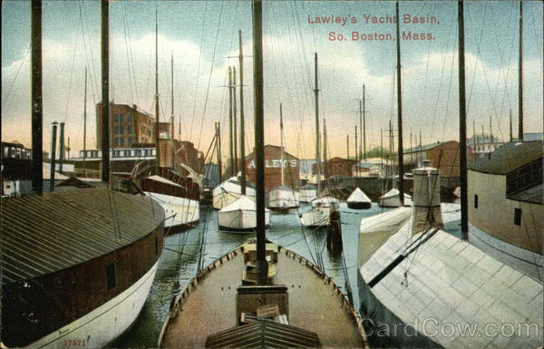 Lawley's Yacht Basin South Boston Massachusetts