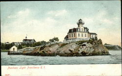Pomham Light - View from the Water