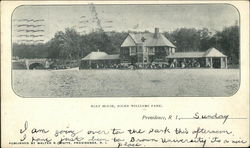 Boat House at Roger Williams Park Postcard