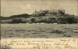 Rough Point - Residence of Fred. Vanderbilt
